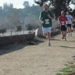 Zeb Running at the Rose Bowl Half Marathon