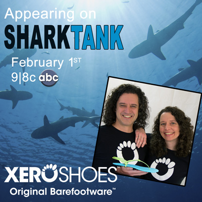 The Running Brothers, Invisible Shoes and Shark Tank